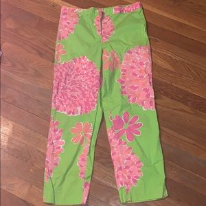 Lily Pulitzer Flower Pants